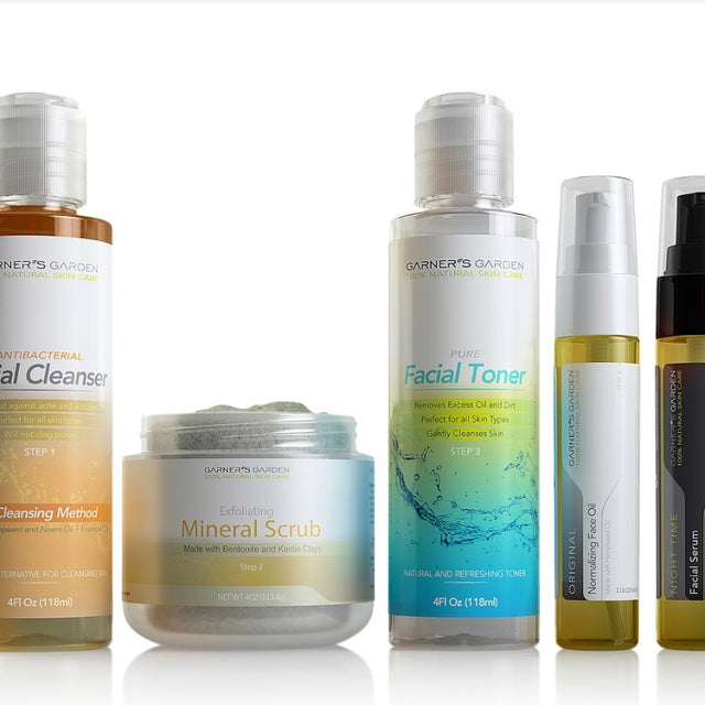 All Natural 5 Step Facial System