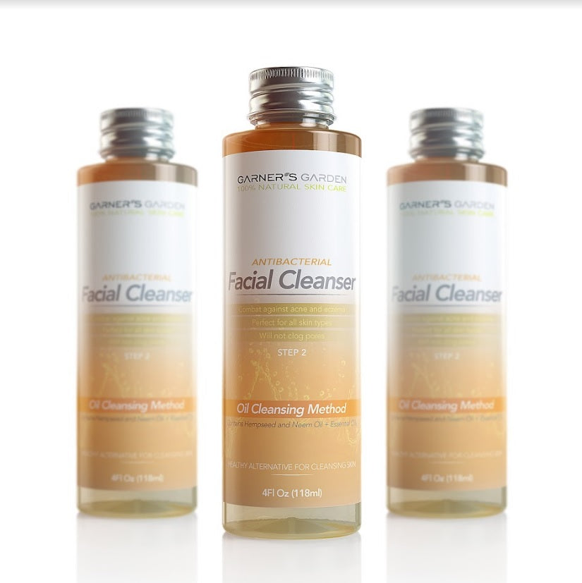 Natural Antibacterial Facial Cleanser
