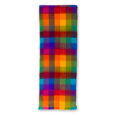 pokoloko-multi-color-check-seamless-scarf