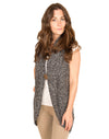 cozy knit - button vest