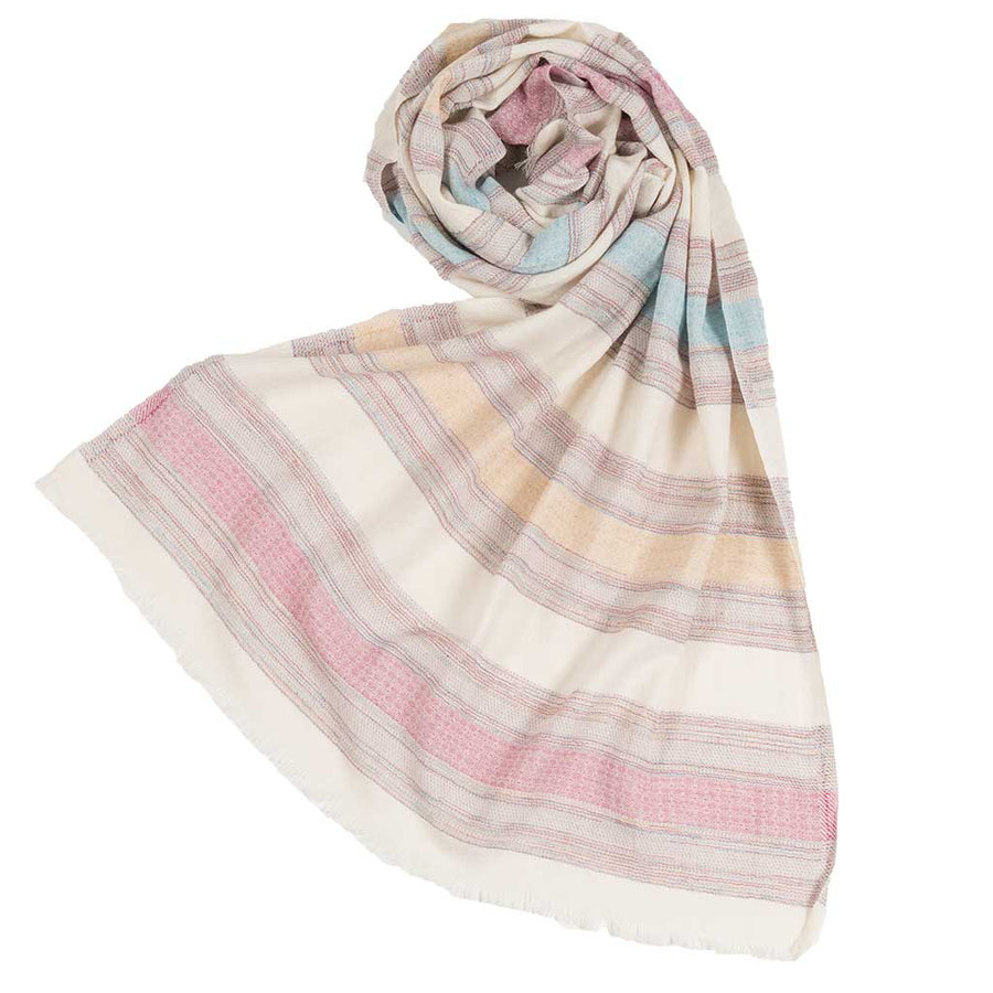 Mixed-Stripe-Scarf-Denim-Rose