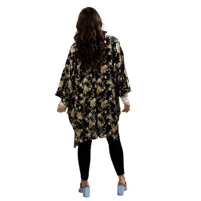 open-kimono-floral-black-rear-facing-pokoloko