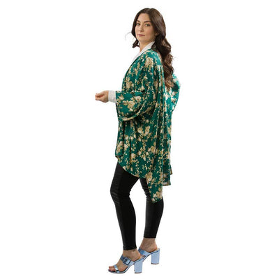 open-kimono-floral-teal-side-facing-pokoloko