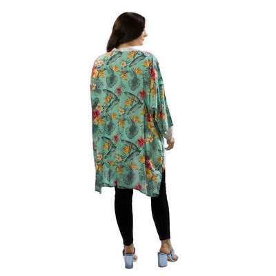 open-kimono-tropical-aqua-rear-facing-pokoloko