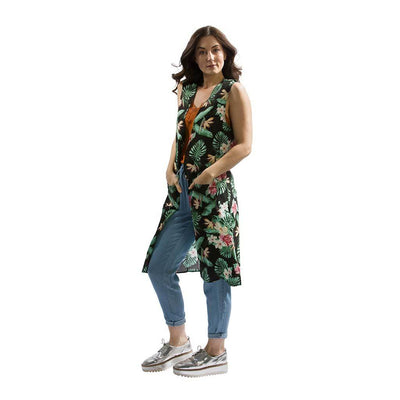 vest-kimono-tropical-black-front-facing-pokoloko