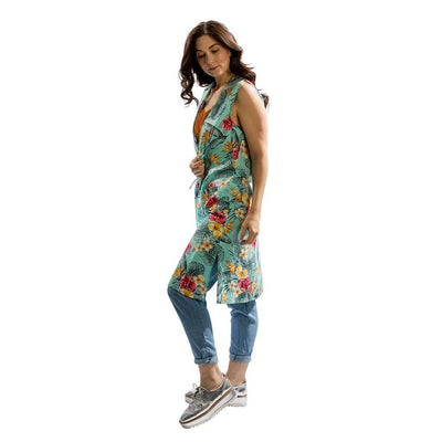 vest-kimono-tropical-aqua-side-facing-pokoloko