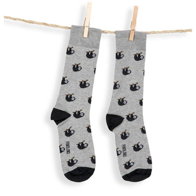 pokoloko-pima-cotton-socks-sloth-product-photo-in-studio