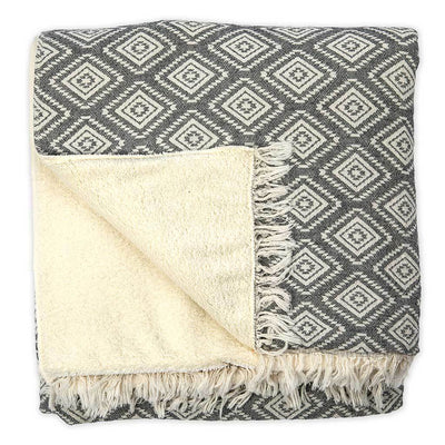 pyramid-fleece-lined-throw-black-above-flipped-pokoloko