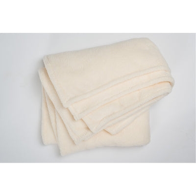 Ecru Fleece Throw