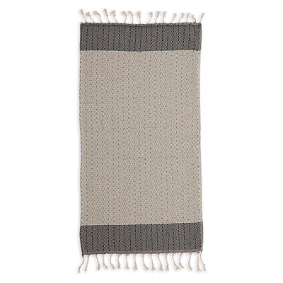 pokoloko-lined-diamond-cotton-hand-kitchen-towel-wide-flat-in-studio-black-carbon-color