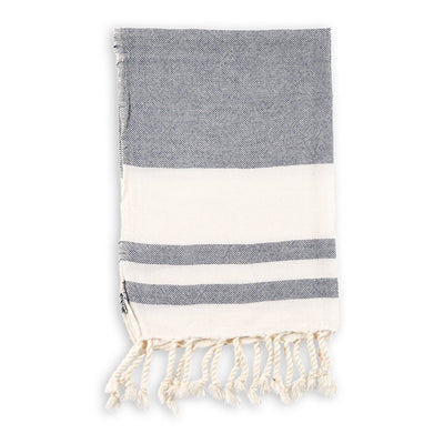 pokoloko-classic-turkish-hand-towel-navy-colour-folded