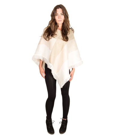 alpaca-triangle-poncho-latte-on-model-pokoloko