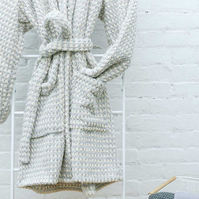 Popcorn Plush Bath Robe