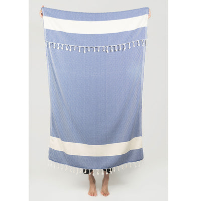 pokoloko-diamond-turkish-towel-navy-upheld-by-hand