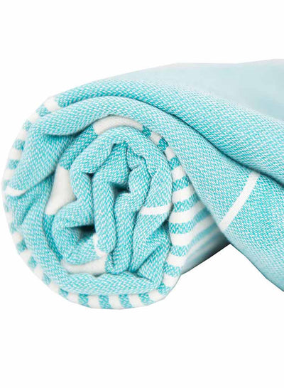 turquoise-harem-turkish-towel-rolled-pokoloko