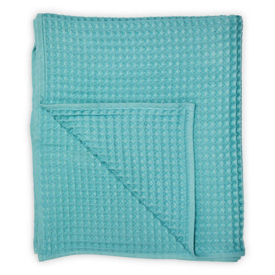 pokoloko-waffle-turkish-towel-pool-color-folded-over-with-flipped-corner