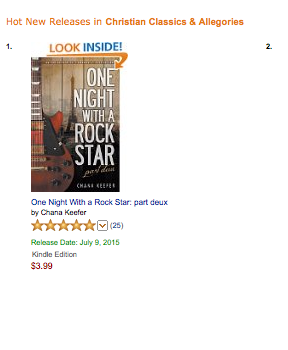 One Night With a Rock Star: Part Deux (Book 2 in the ONWARS series)