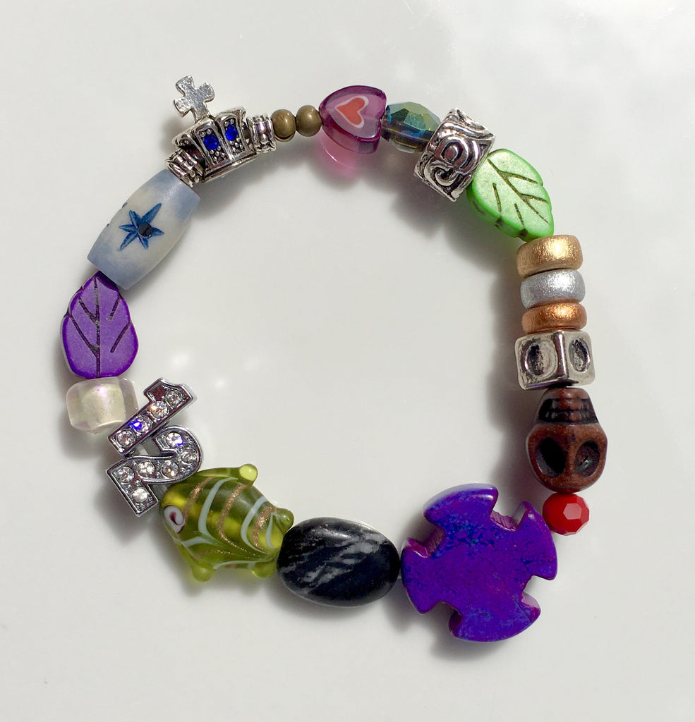 Stretch Boho Bible Bracelet