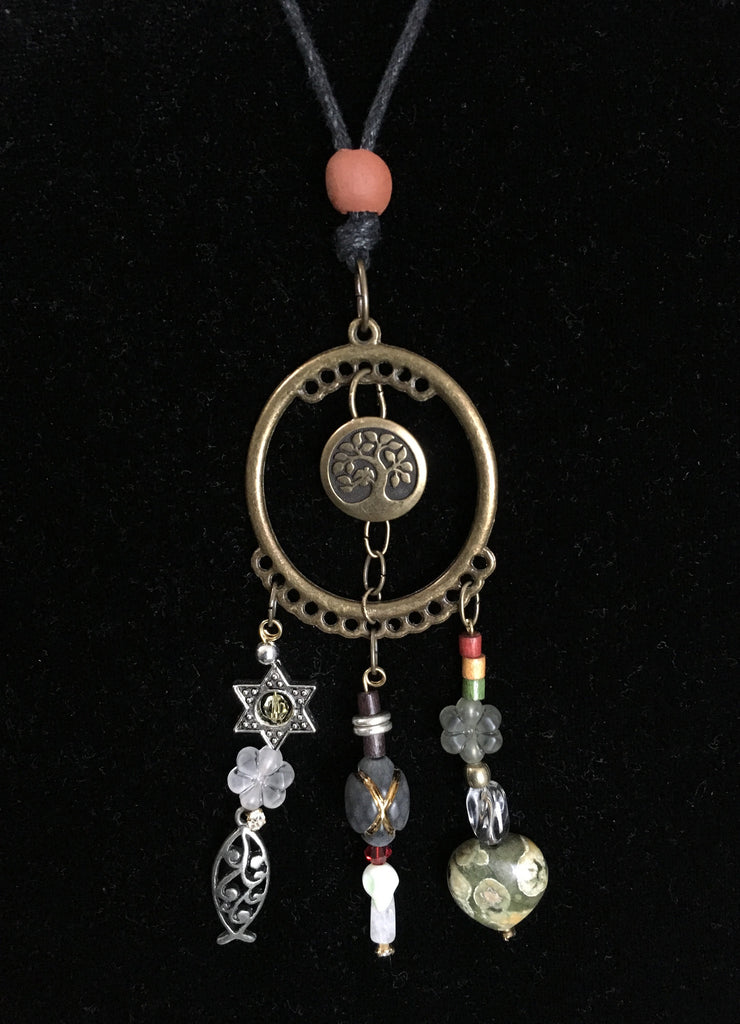 Bible Story Dream Catcher Necklace