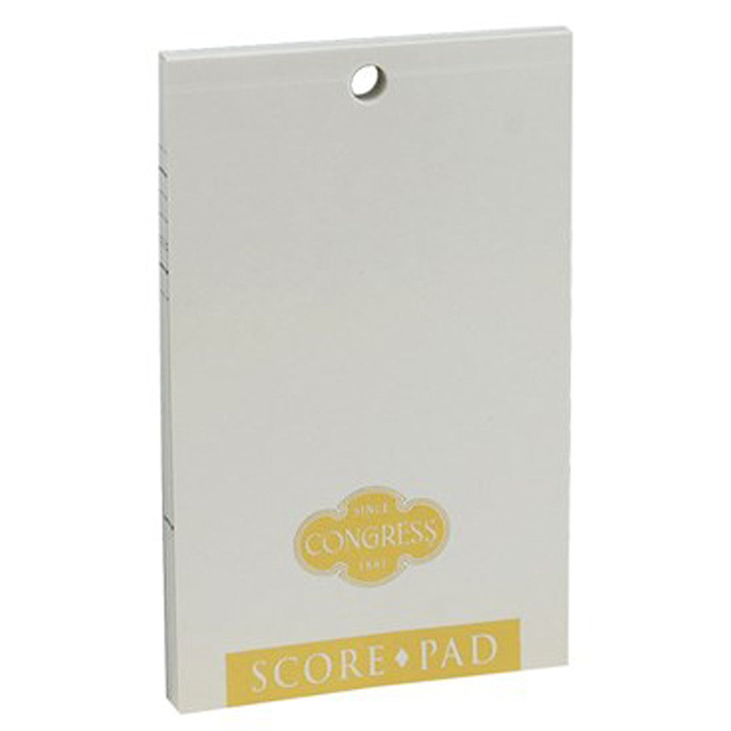 Congress Bridge Scorepad - White