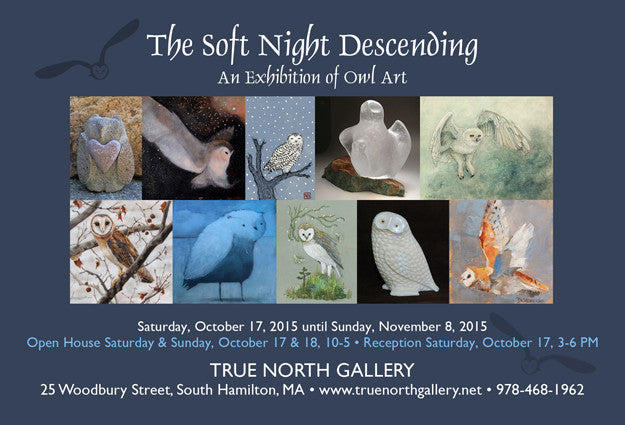 The Soft Night Descending: An Exhibition of Owl Art