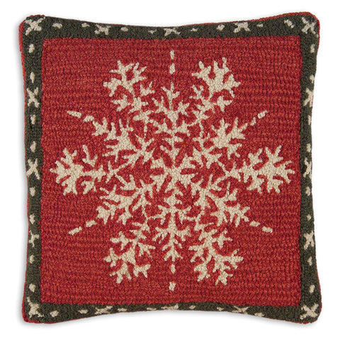 Alpine Snowflake Pillow - True North Gallery