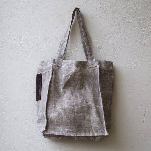 Beeswaxed Linen Totes - True North Gallery