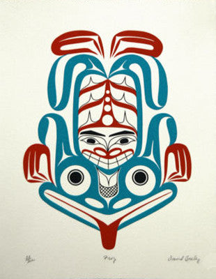 Frog Serigraph - True North Gallery