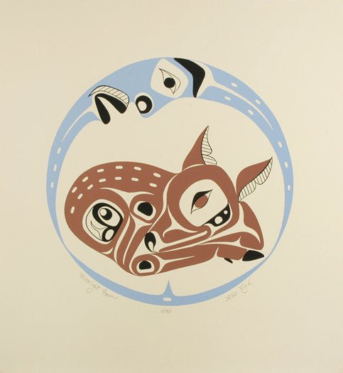 Moonlight Fawn - True North Gallery
