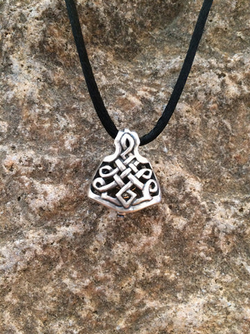 Celtic Labrys Bell Pendant - True North Gallery