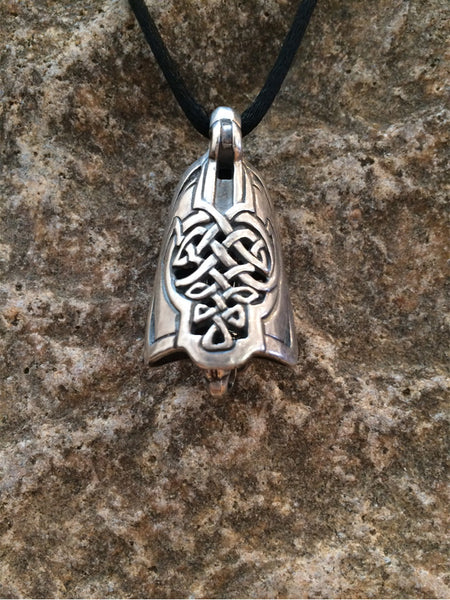 Celtic Lute Bell Pendant - True North Gallery