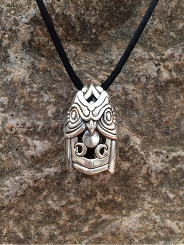 Owl Bell Pendant - True North Gallery
