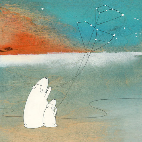 The Great Bear and the Little Bear Print - True North Gallery