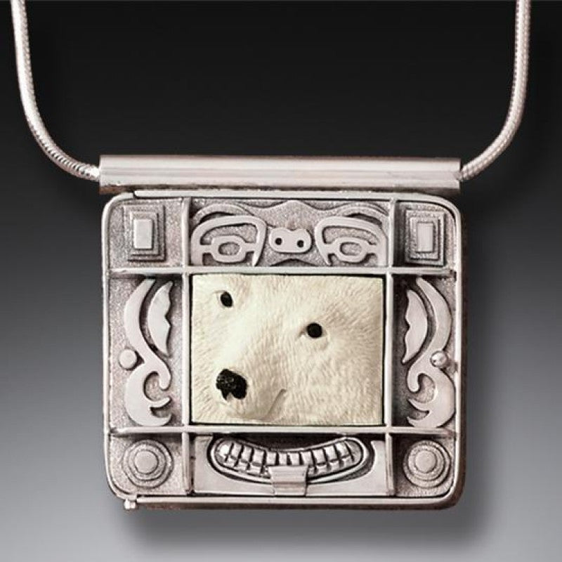 Polar Bear Spirit Locket - True North Gallery