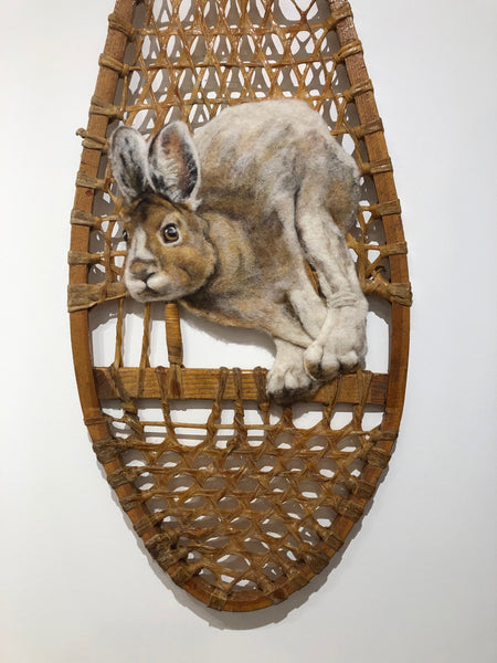 Snowshoe Hare by Juliana Boyd - True North Gallery