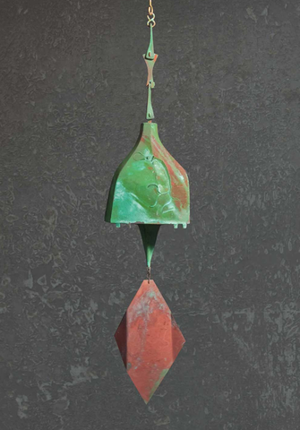 Bronze Soleri Bell, #129 - True North Gallery