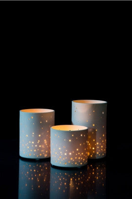 Starry Sky Votive - True North Gallery