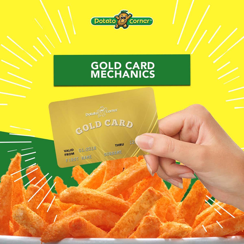 Potato Corner Gold Card Sweepstakes Official Rules [PROMOTIONS]