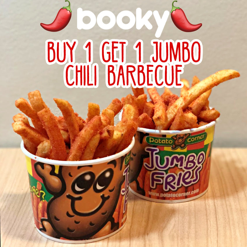 Buy 1 Get 1 Jumbo Chili Barbecue Fries Through Booky [PROMOTIONS]