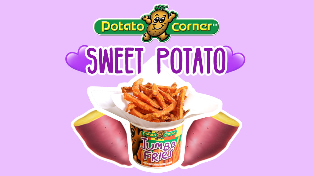 Sweet Potato Fries Are Here! [NEW PRODUCT]