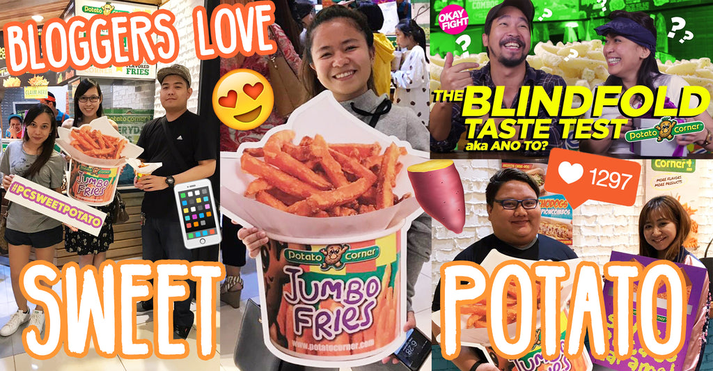 Bloggers Love Our Sweet Potato Fries [NEW PRODUCT]