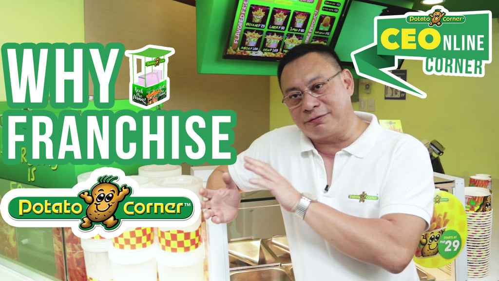 CEOnline Corner EP2: Why Franchise Potato Corner?