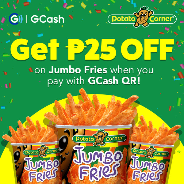 Potato Corner GCash QR Promo!