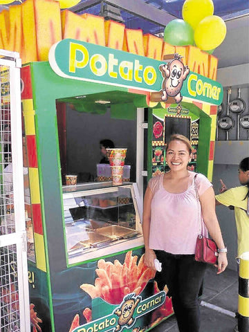 Happy Potato Corner franchisee Pie Hidalgo-Paras