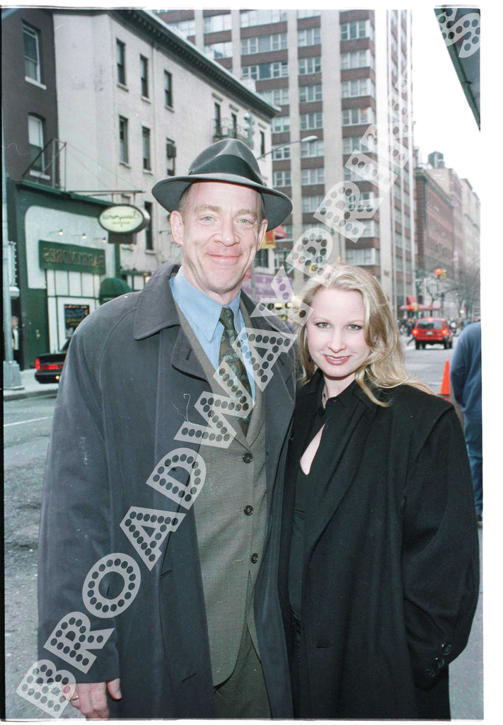 J. K. Simmons Michelle Schumacher One Flew Over The Cuckoos Nest Opening Night
