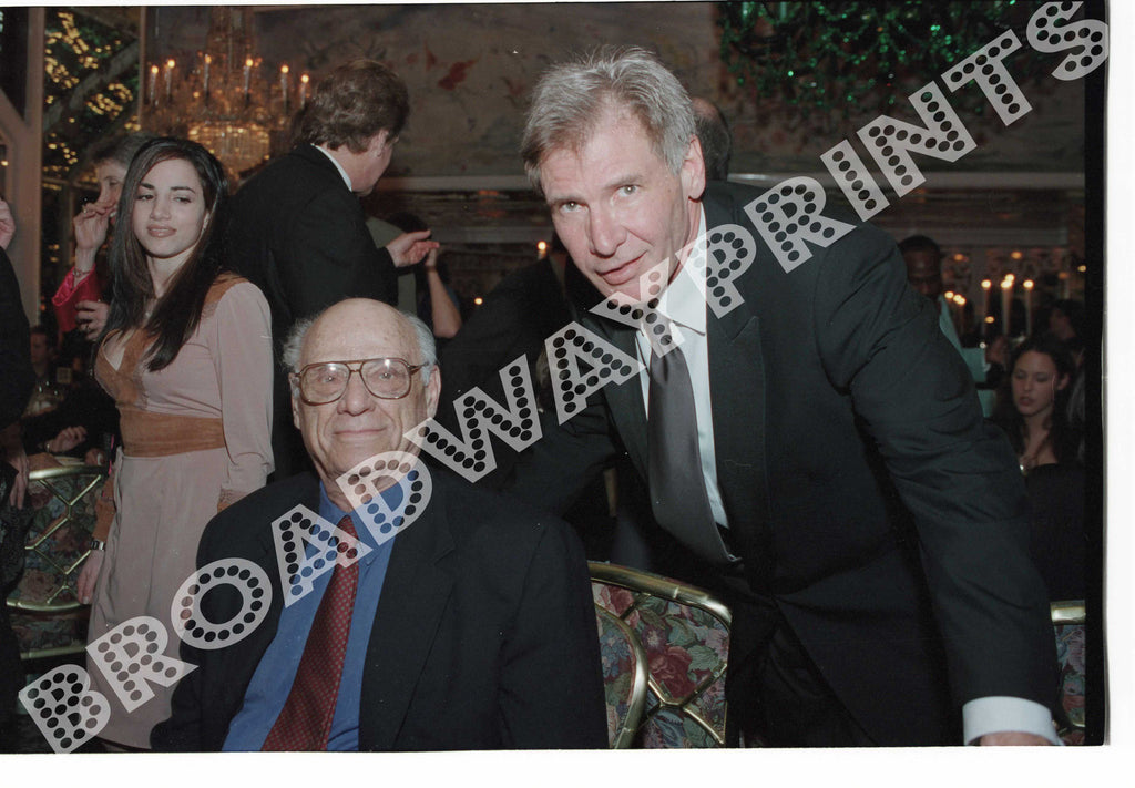 Arthur Miller & Harrison Ford 2002 The Crucible Opening Night