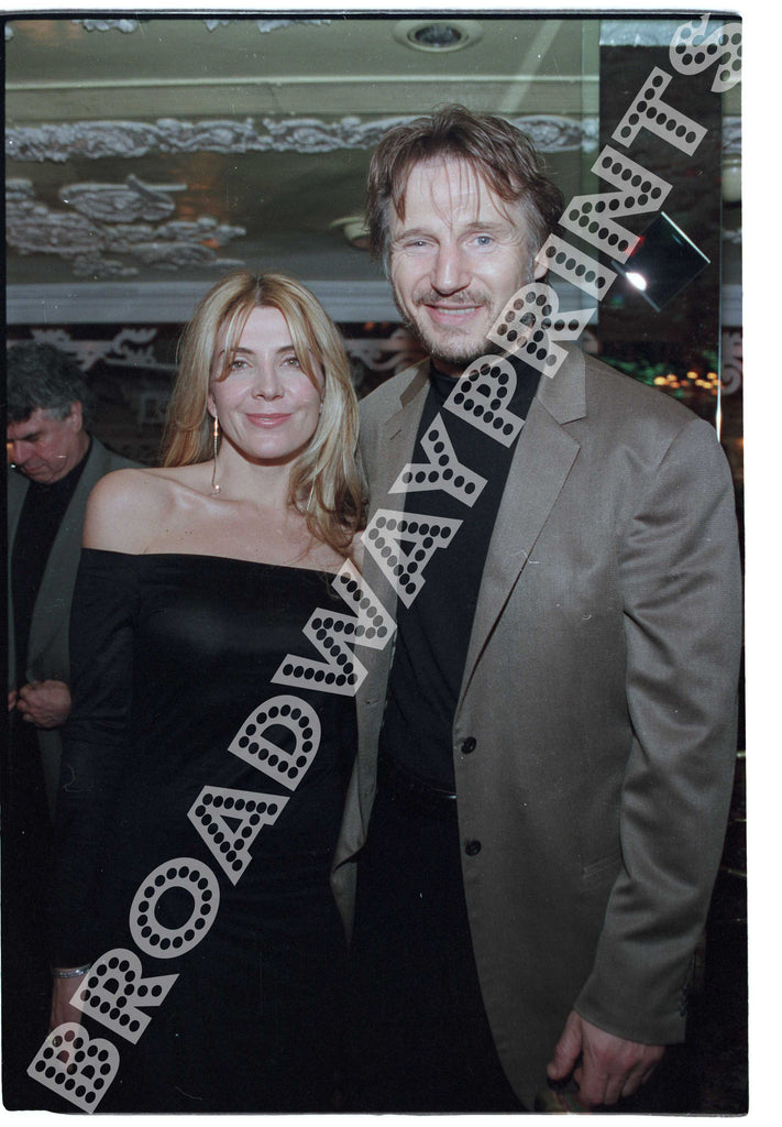 Natasha Richardson & Liam Neeson 2002 The Crucible Opening Night
