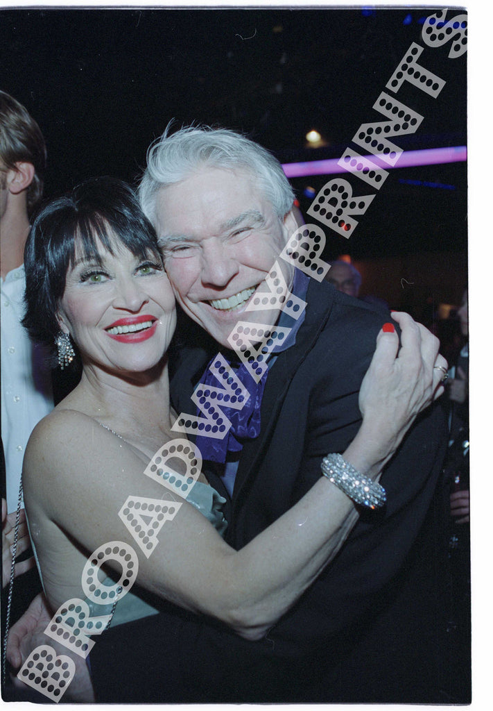 Chita Rivera & Jacques D'amboise 2003 Roundabout Theatre Company Nine Opening Night