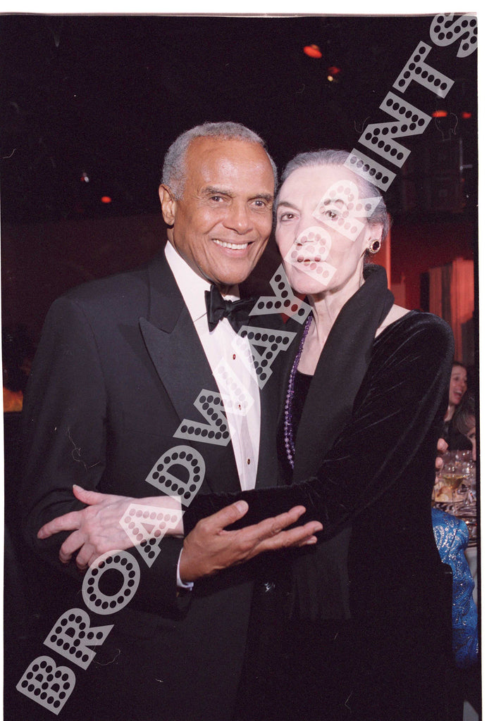Harry Belafonte & Marian Seldes 2003 Acting Company Gala