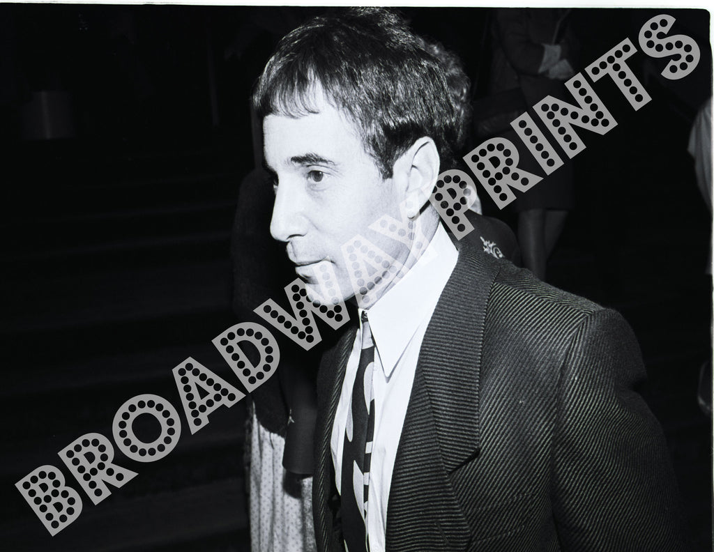Paul Simon  Royal Shakespeare Company opening 1984